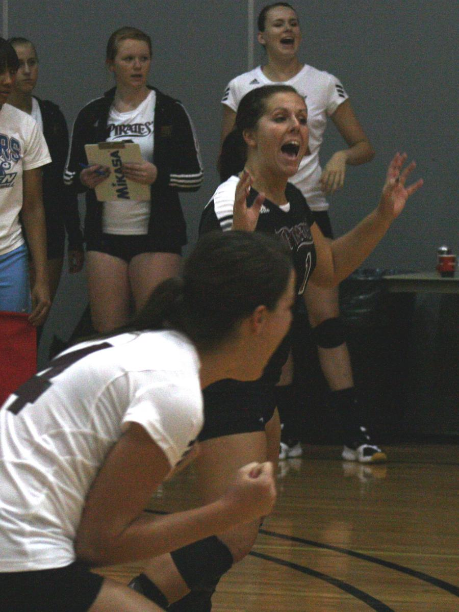 Pirate Volleyball Moves To No. 19 In AVCA Division II Top 25 Poll