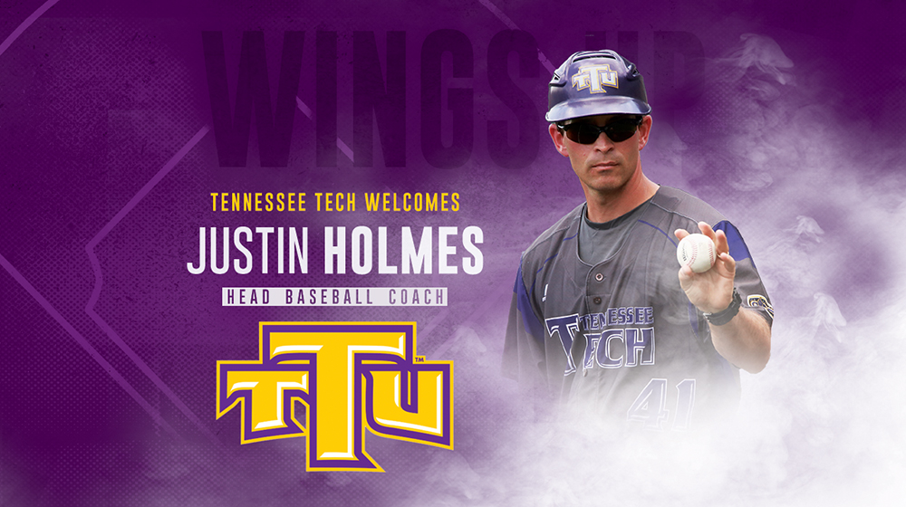 Justin Holmes named 14th head coach of Tennessee Tech baseball program