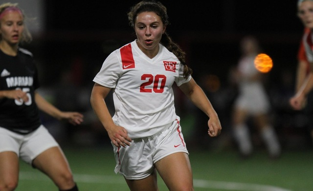 Late Goal Thwarts Women's Soccer vs. Carthage