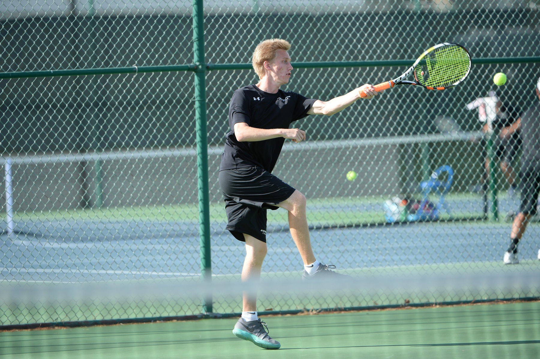 Men's Tennis Opens Up Fall Campaign with 8-1 Win Over Catholic