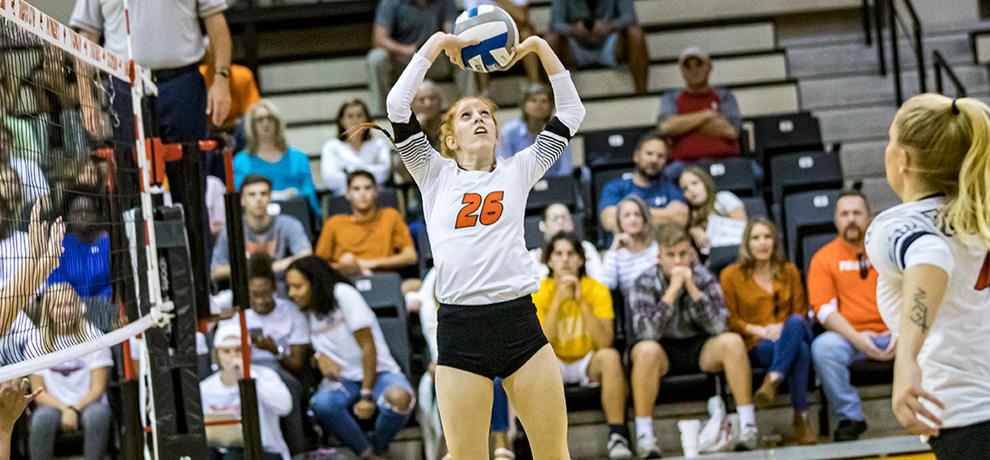 Freshmen Help Pioneers Overcome Fifth Set Deficit to Take Season Over Bears