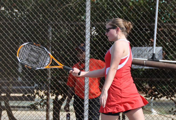 Women's Tennis: Panthers split two weekend matches