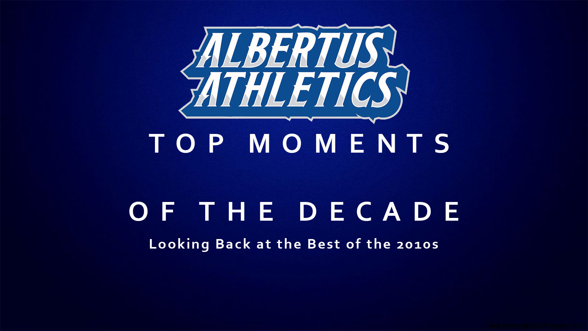 Looking back at the last decade in Albertus Magnus Athletics