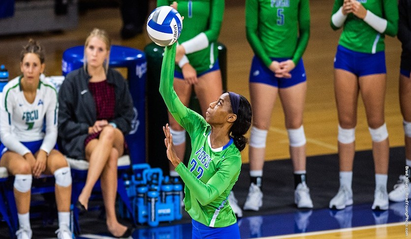 FGCU Serves Up 12 Aces In Rout Of Alabama State
