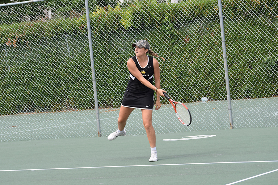 Women's Tennis Swept by Gordon