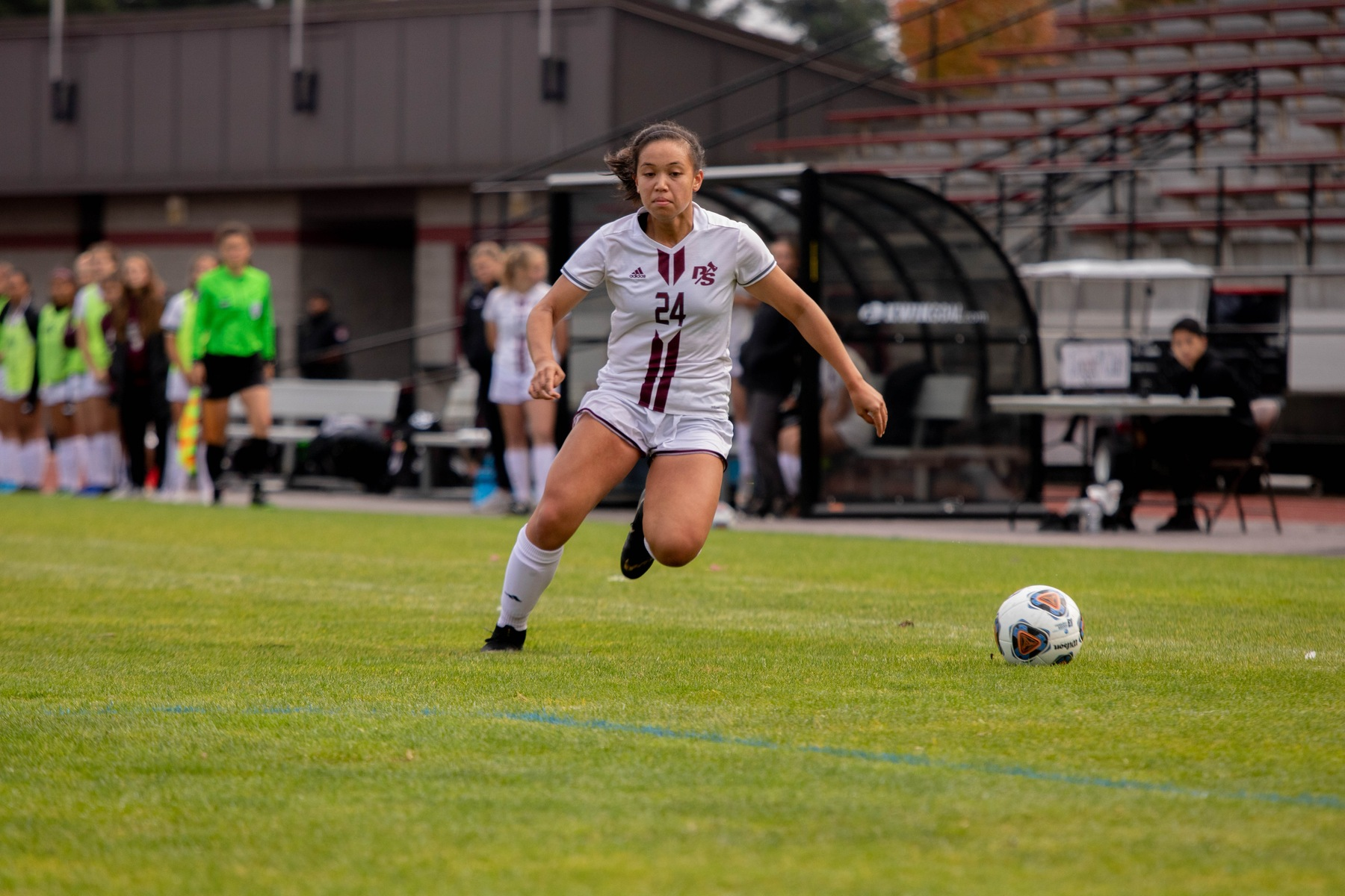 Loggers score three first-half goals in 4-0 win at Whitman