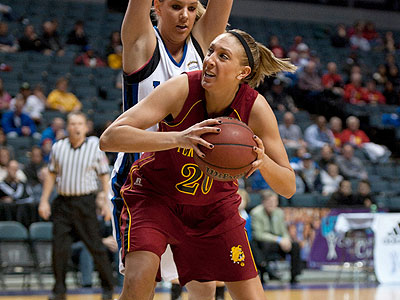 Ferris State senior Andrea Clancy returned to the lineup and had 11 points at Urbana