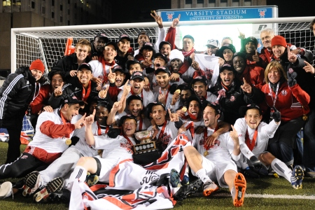 FINAL 2010 CIS championship: York wins third national title with 1-0 win over UBC