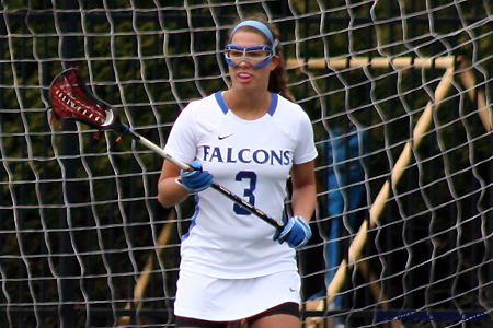 Reiter scores school record seven goals, Women's Lacrosse falls to Pacific
