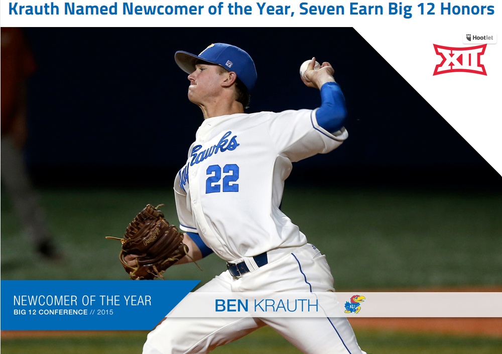 BB | Former DVC standout Ben Krauth earns Big 12 Newcomer of the Year honors