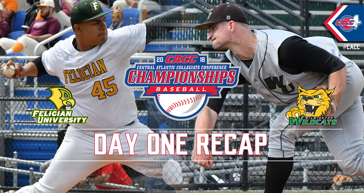Strong Pitching Performances Lead Both Felician & WilmU to Winners Bracket of 2018 CACC Baseball Championship