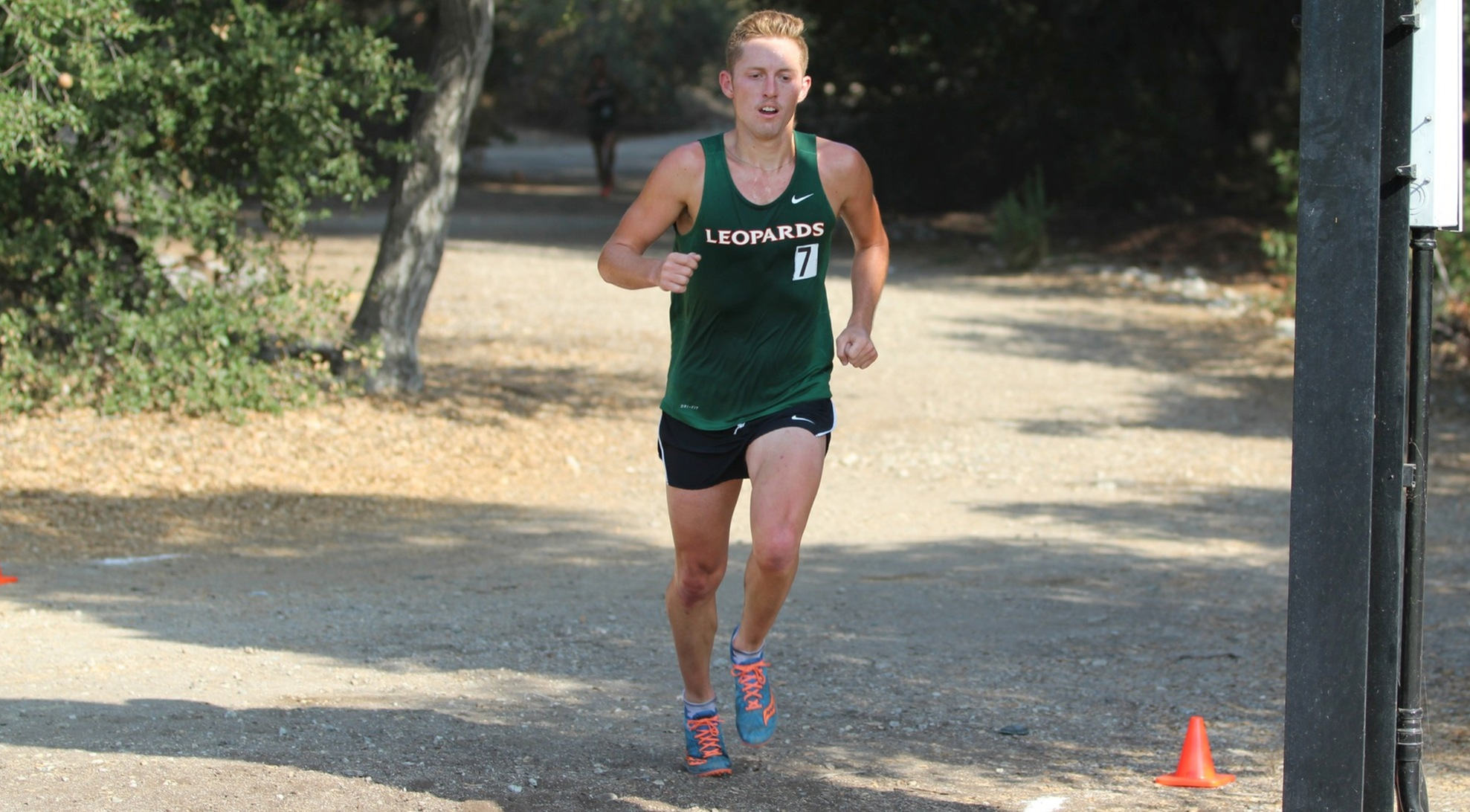 Men's Cross Country posts solid times at Coyote Challenge