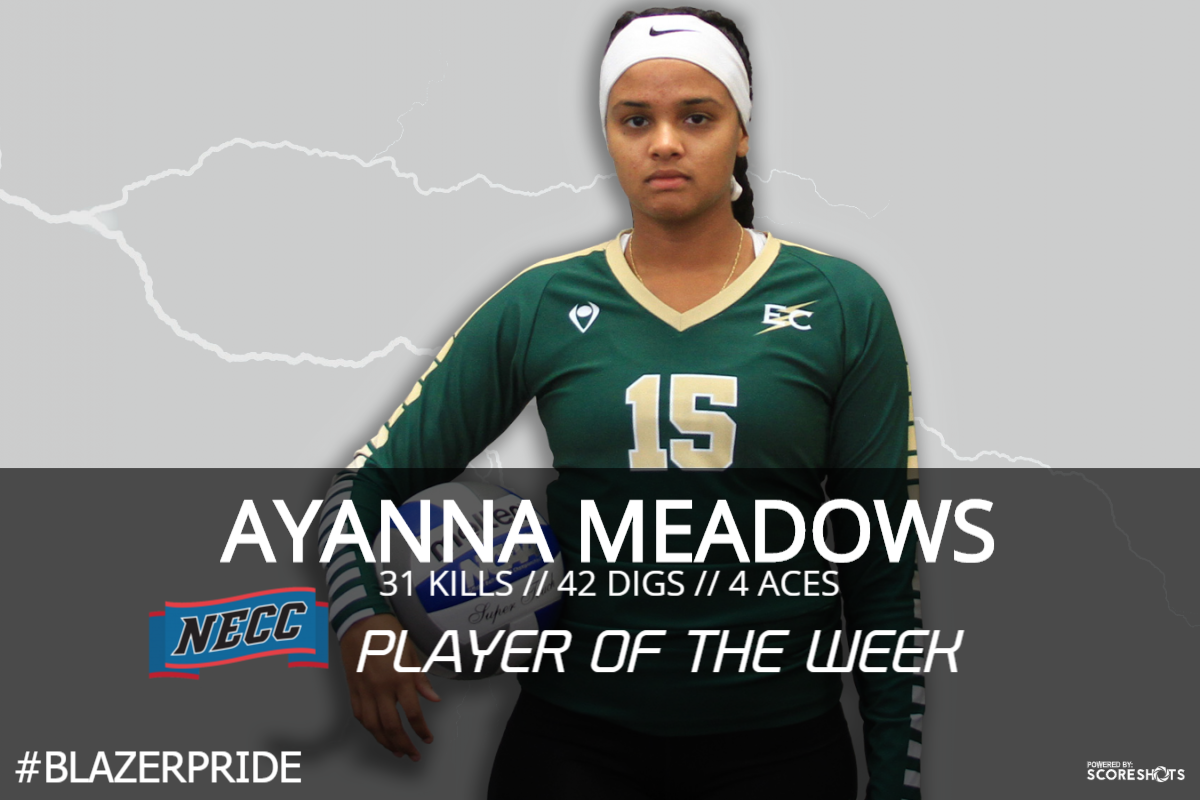 Meadows Nabs NECC Player Of The Week Honor