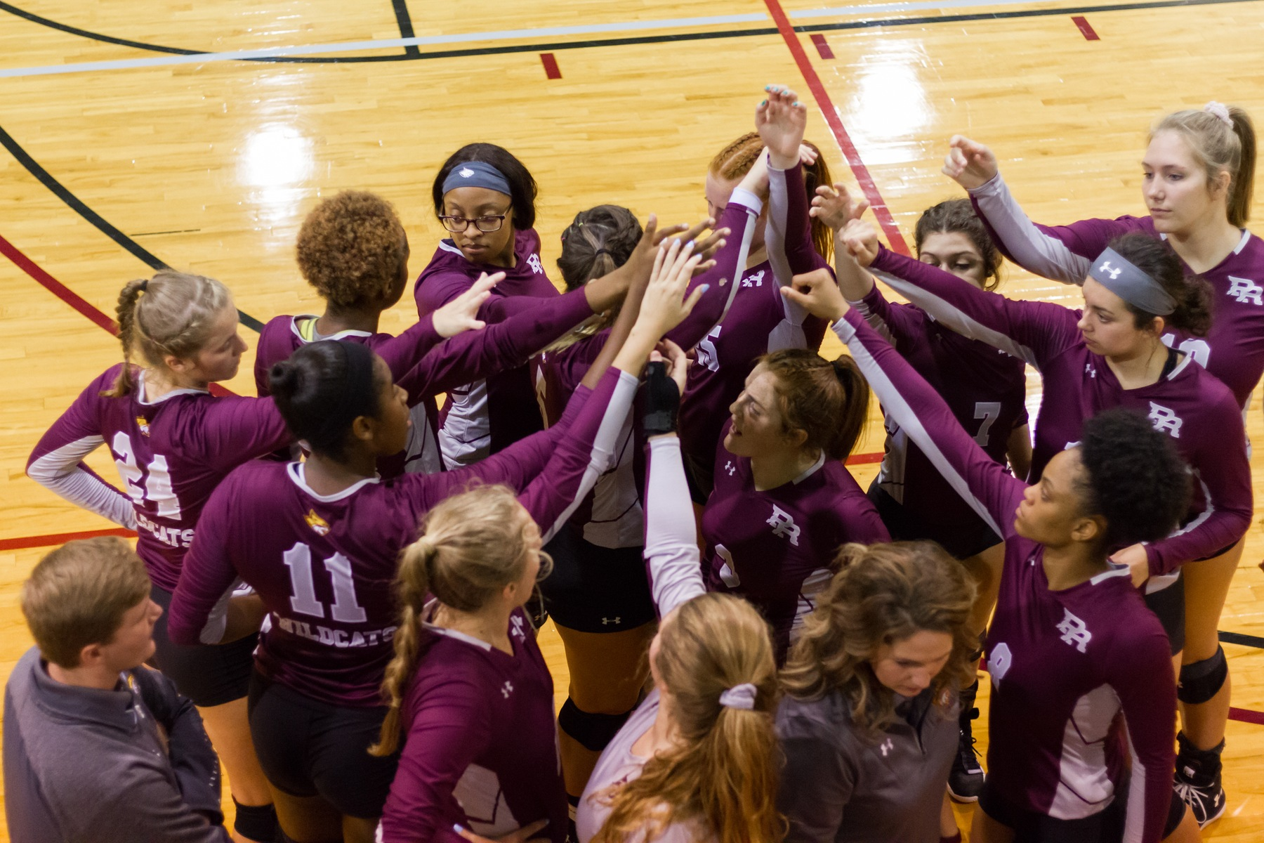 Pearl River fell to Panola College 3-0 (14-25, 9-25, 13-25) on Friday, Sept. 20, 2019 at Shivers Gymnasium in Poplarville, Miss. (BRETT RUSS/PRCC ATHLETICS)