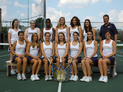 Simmons Tennis returns in 2010 after the most successful season in school history last year. The Sharks captured the 2009 Great Northeast Athletic Conference Championship title for the fifth time in six years after a dominating 8-0 regular season GNAC performance. Simmons also achieved a #24 Northeast Ranking from the Intercollegiate Tennis Association?their highest ever?and advanced to the round of 32 in the spring 2010 NCAA Tournament.