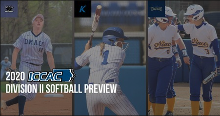 ICCAC 2019 Spring Preview | Division II Softball