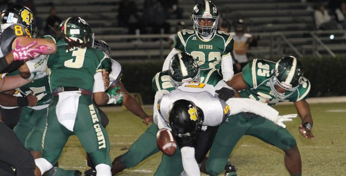 Ware Rolls Past Harris County, 24-6