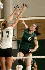 Benz Named Among Collegiate Volleyball Update's Rising Stars