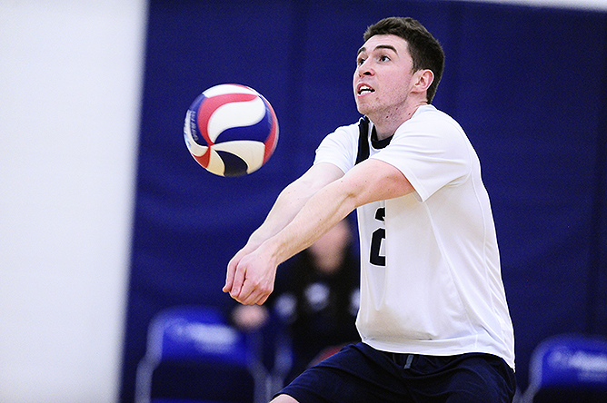 Four in a Row For Men's Volleyball