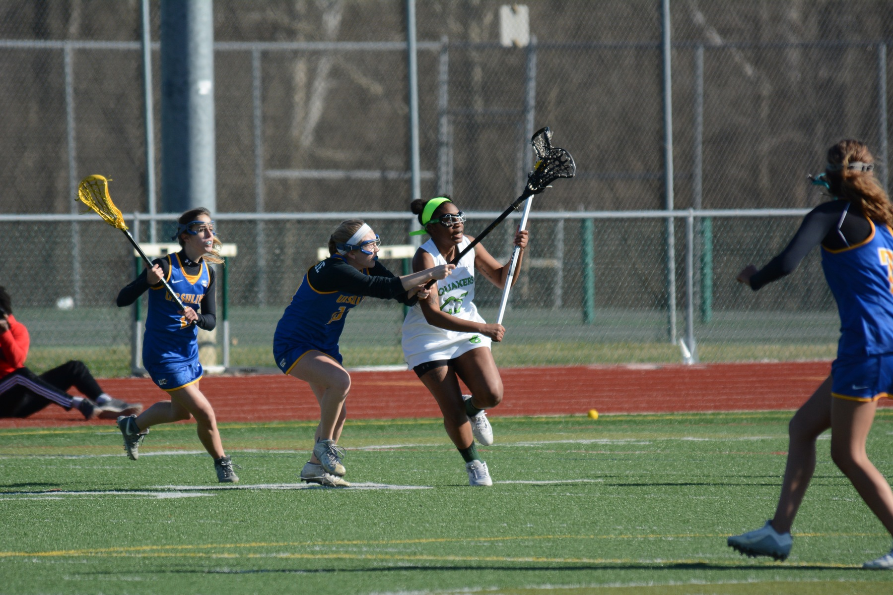 Women's Lacrosse Drops First OAC Game Against Mount Union 28-0