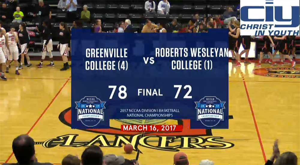 Women's basketball defeats Roberts Wesleyan to advance to NCCAA championship game