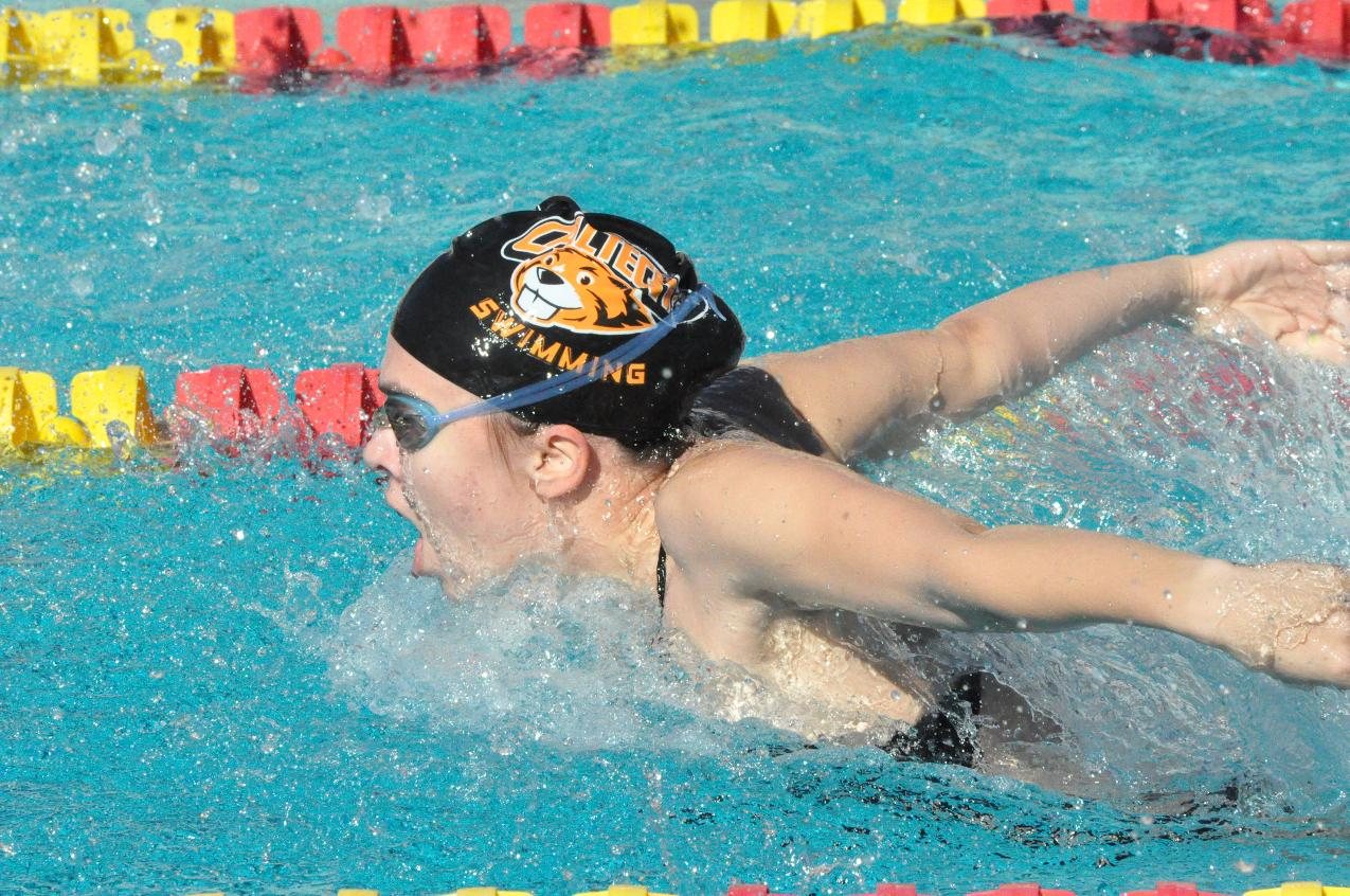 Ilic, Kaczmarek Pace Women's Swim/Dive Against Oxy, Mills