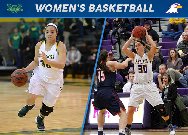 Wayne State's Wilson, Ashland's Daugherty Awarded GLIAC Hoops Weekly Honors