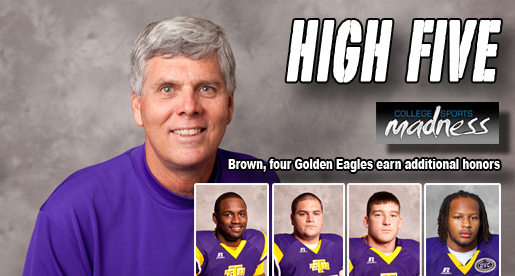 Golden Eagle football program receives more post-season honors