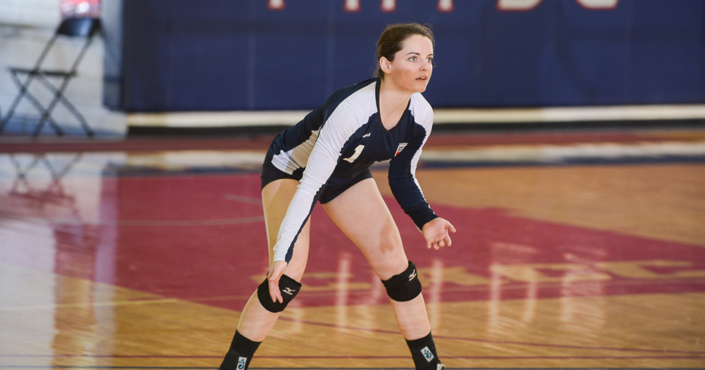 Women's Volleyball Earns W in Last Regular Season Home Match, 3-1
