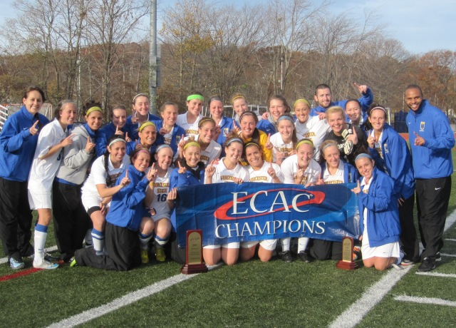 Women's Soccer Claims ECAC New England Championship In Shootout