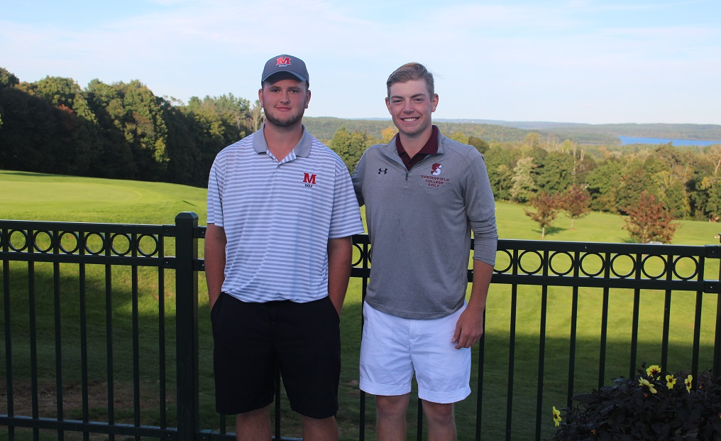 Gaboury (left) was named NECC Rookie of the Year