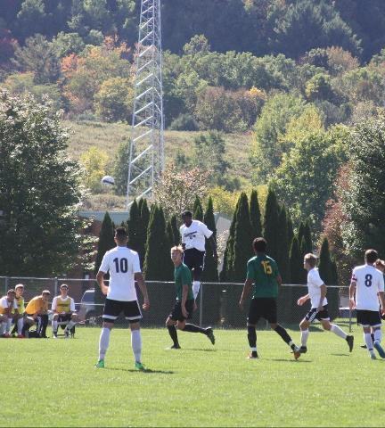 Men's Soccer Match Ends In A Tie