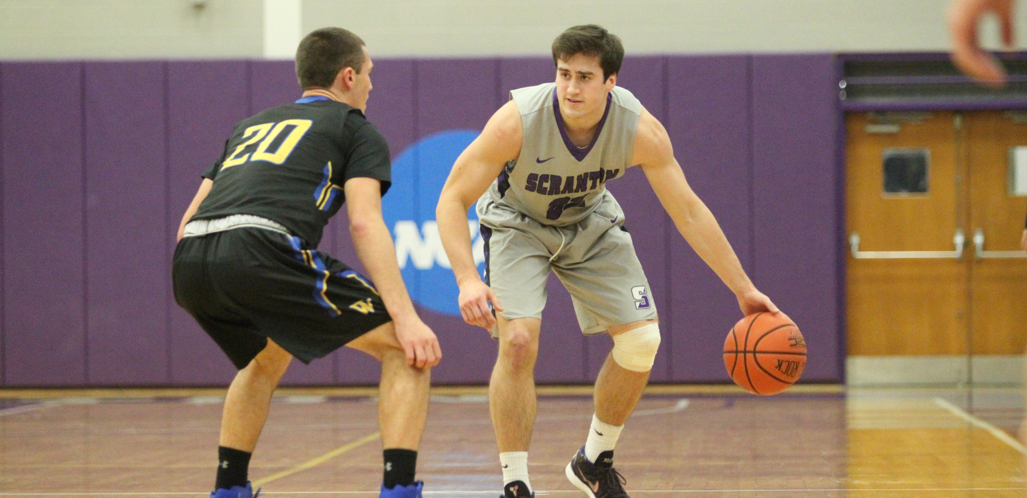 Kyle DeVerna scored 14 points in Scranton's win at York (Pa.) on Wednesday night.