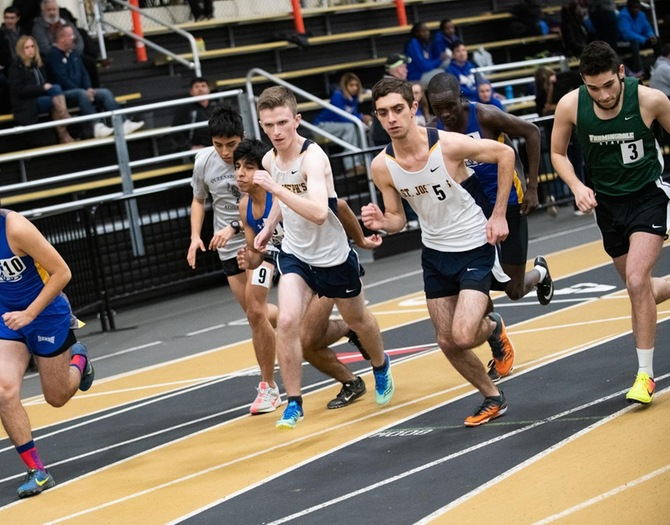 Track and Field Participates in NJAC Indoor Championships