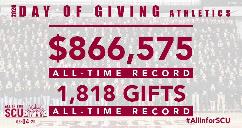 Bronco Supporters Key Record-Setting Day of Giving
