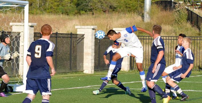 Winston's hat trick guides Falcons to first NACC win