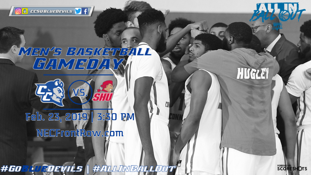Men's Basketball Hosts Sacred Heart Saturday