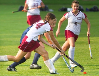 Wildcats Fall to Pride in NECC Field Hockey Match
