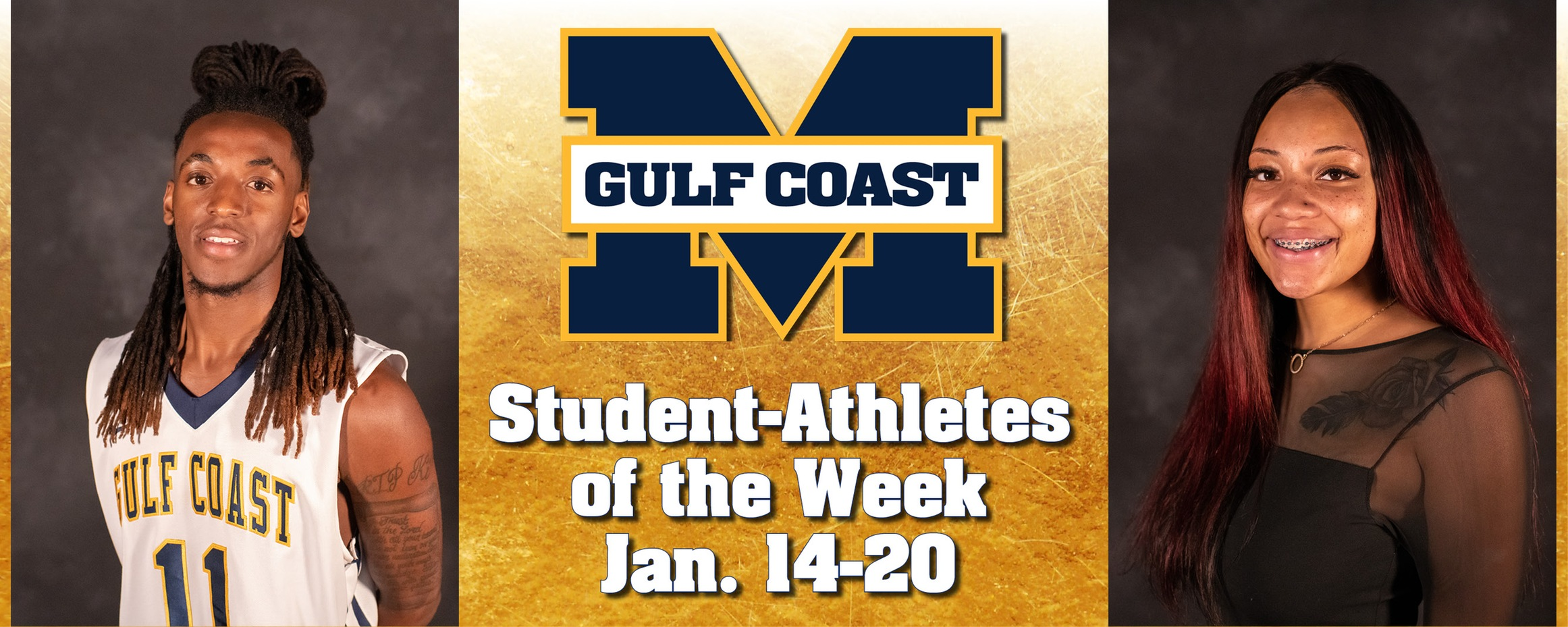 Spivery, White named MGCCC Student-Athletes of the Week
