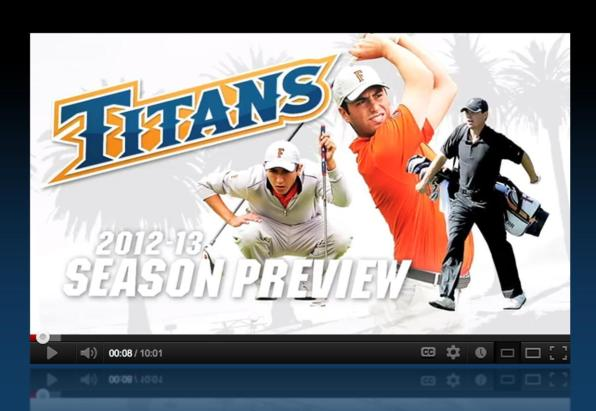 2012-13 Season Preview: Men's Golf