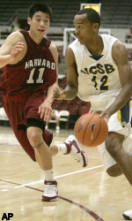 Harris Leads UCSB to 79-61 Victory Over Harvard