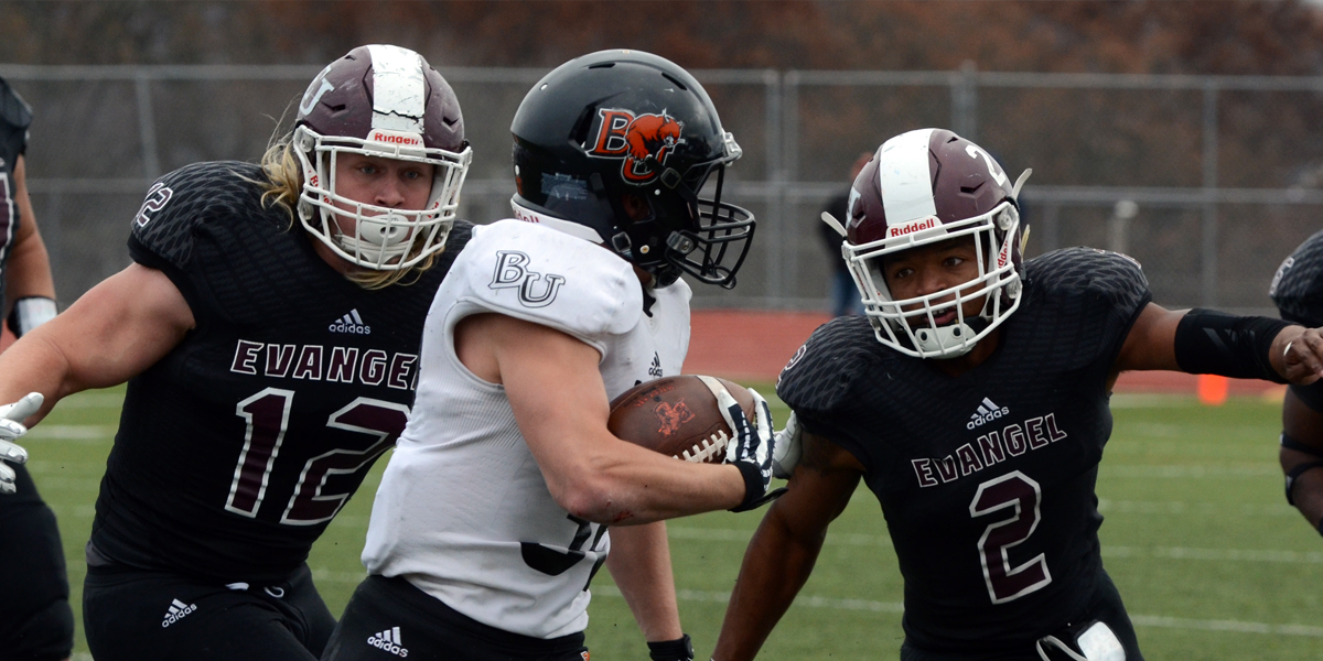 No. 23 Evangel Shares Heart Title with Baker after loss