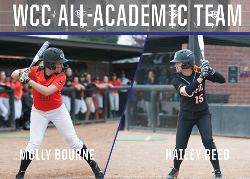 Bourne and Reed Named to WCC All-Academic Team