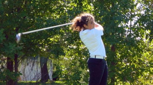Falcon lead is HUGE after Day 2 of NAC women's Golf Tourney