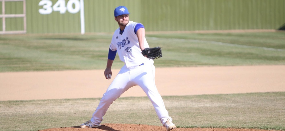 Boerger tosses complete game, Tigers sweep Briar Cliff