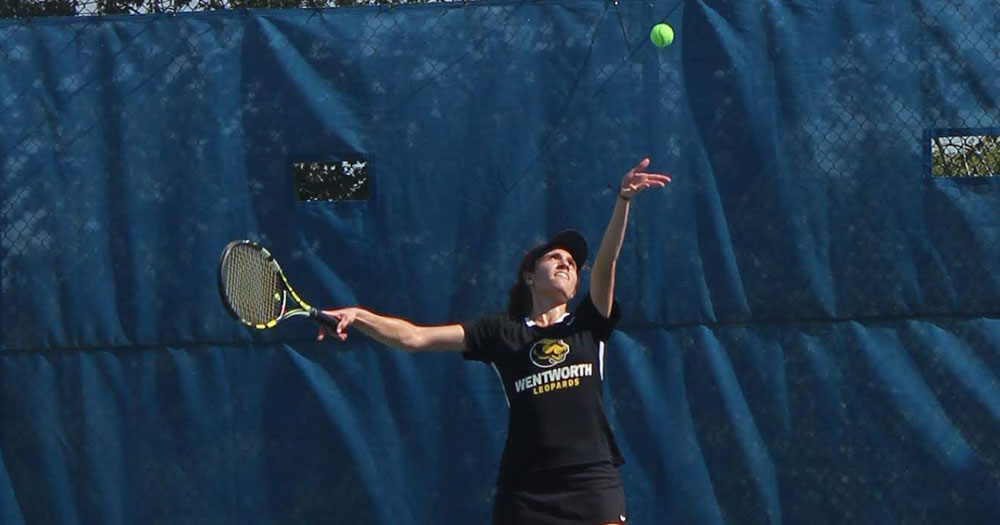 Women's Tennis Wraps up Conference Slate