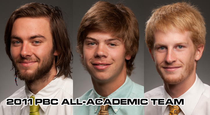 GC Puts Three on PBC Men's Cross Country All-Academic Team
