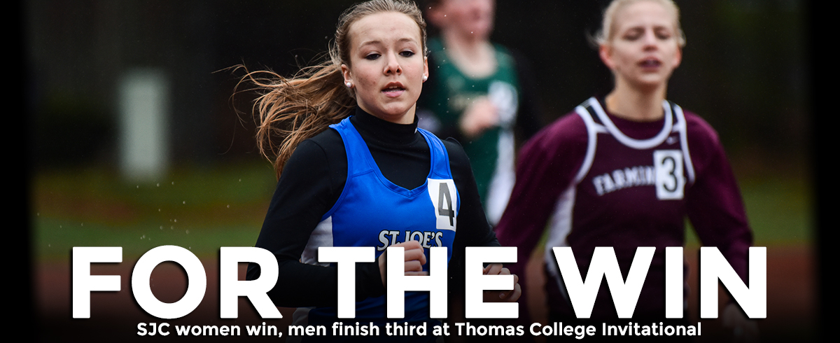 Women Win, Men Take Third at Thomas College Invitational