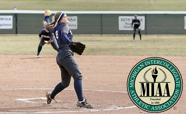 Saupe Repeats as MIAA Pitcher of the Week
