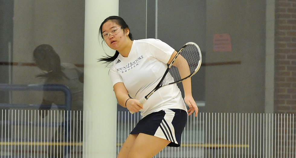 Squash Finishes Second at Seven Sisters Championship